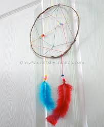 Dream Catcher Craft Supplies Camp Crafts Rainbow Dream Catcher Crafts by Amanda 2