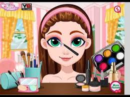cherry make up look kids games funny games play cherry make up look games