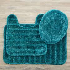 mohawk veranda bath rug teal set