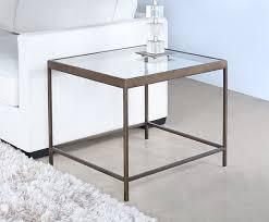 et417 mitchell gold vienna side table in antique brass