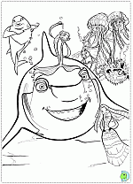 Small Picture Shark Tale coloring pages Shark Tale movie coloring pages