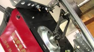make a side mount garage door opener