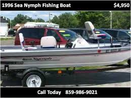 1996 sea nymph fishing boat used cars berea ky youtube sea nymph fm 161 specs at 1996 Sea Nymph Wiring Diagram