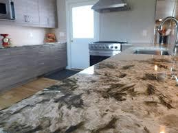 Rustic Kitchen Remodel Alpine White Granite Countertops Park