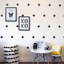 modern wall decals cross design wall decals modern wall decor cross plus sign decal removable decor