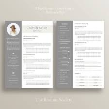 Reference Pages For Resumes Resume Template 4 Pages Cv Cover Letter References