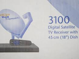 Bell Expressvu 3100 Dig Satellite Tv Receiver With 18 34