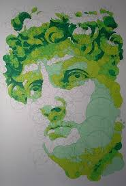 querkles masterpieces a puzzling colour by numbers book by thomas pavitte michelangelo buonarroti