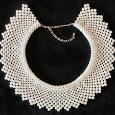 Pearls are formed when the mollusk secretes thousands of very thin concentric layers of nacre, a secretion of calcium carbonate (aragonite and. Jewelry Ruth Bader Ginsburg Glass Pearl Dissent Collar Poshmark