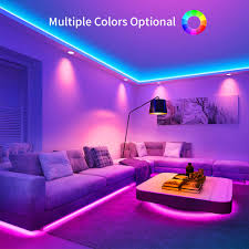 Led Light Strips For Room Led Light Strip Minger Waterproof 32 8ft Rgb Led Strip Lights 300 Leds Rope Strips Kit With 44 Key Ir Remote Control Ideal For Room Home Kitchen