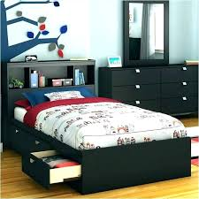 Solid Wood Twin Bed With Storage Gorgeous How To Design Wood Twin ...