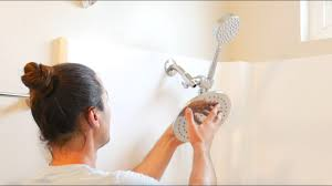 how to install a custom dual shower head with handheld using an external shower diverter valve