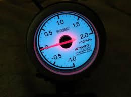 2040 parts com Volt Gauge Wiring Diagram jdm apexi el back light mechanical boost gauge wrx s13 s14 r32 gtr rx7 supra mr2