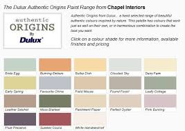 Dulux Colour Chart 2012 Dulux Authentic Origins Paint Designer Wallpaper