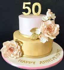 50th Anniversary 2 Tier Cake 3kg Sri Lanka Online Shopping Site