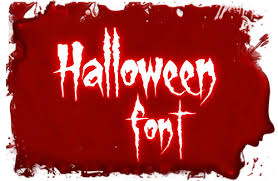 scary horror halloween fonts   scary horror halloween font 2012 5