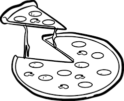 Small Picture Whole Pizza Coloring Page Wecoloringpage