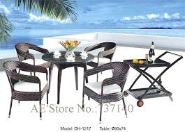 outdoor round table and chairs outdoor dining set rattan furniture outdoor furniture round table chair furniture