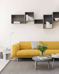 Colorful living room inspiration with the yellow sofa, Rest, and ...