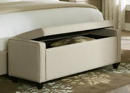 Bedroom Upholstered Stools Bedroom Bench Seat In Front Of Bed ...