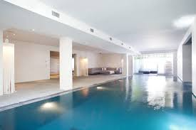 In ground swimming pool concrete custom indoor LONDON 2