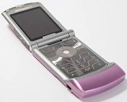 motorola flip phone. motorola razr v3m pink verizon flip phone ready to activate! o