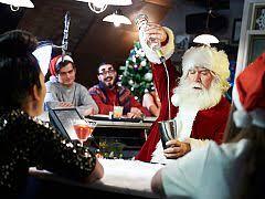 A Shared Christmas Party in Edinburgh