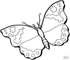 Disegno Di Una Farfalla Da Colorare Disegni Da Colorare E Stampare