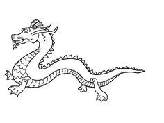 Small Picture Realistic Dragon Coloring Pages Free Printable Dragon Coloring