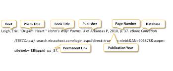 mla poem citation poem citation pscc libraries at pellissippi state community college
