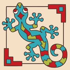 Decorative Tile Coasters Decorative Tile Collection Southwest GeckoTile Coaster HDC100 77