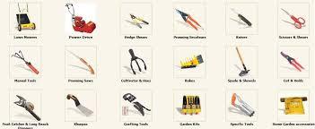 get gardening tools names png