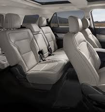 2018 ford explorer seating