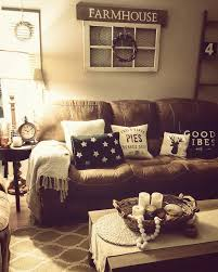 living rooms with brown furniture. rustic living room farmhouse brown couch cozy home rooms with furniture d