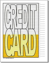 Credit Card Debt Free Charts Debt Payoff Paying Off
