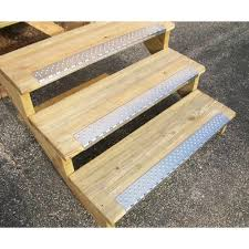 exterior stair treads and nosings. handi-ramp 30\ exterior stair treads and nosings n