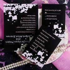 modern romantic pink and black hearts wedding invitation ewi151 as Printable Wedding Invitation Kits Purple discount modern black and pink heart printable wedding invitation kits Printable Wedding Invitation Templates Blank