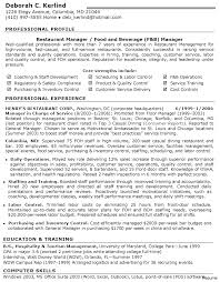 Server Resume Objective Food Service Resume Objective Examples Server Serving 100a Job 18