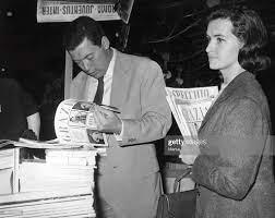 Nicola Pietrangeli With Wife Susanna. 1962. Foto di attualità - Getty Images