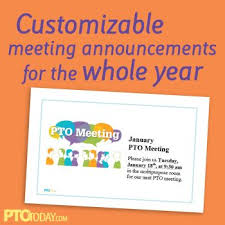 Meeting Announcement Template Fun And Free Printable Template For Announcing Meetings