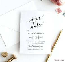 Save The Date Template Word Save The Date Invitation Design Invitations Online Diy