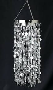 party chandelier decoration marvelous silver metallic decorative hanging ribbon and trims black decorations