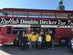 buffalo double decker bus tours 2021