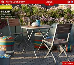 Tar Threshold faux wood patio furniture by Katie Wittenberg at