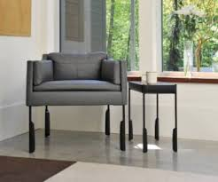 old modern furniture. The Altai Easy Chair Upholstered In Napa Leather, With Cocktail Table. Old Modern Furniture L