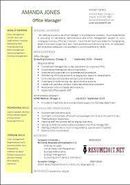 Sample Office Manager Resumes Assistant Business Manager Sample Resume Podarki Co