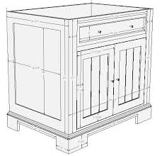 free bathroom sink cabinet plans. lavatory vanity plans bathroom cabinets plans, cabinet building - tsc free sink a