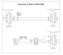 programming a crestron part 2 RS232 Pin Layout at Rs232 Db9 To Rj11 Wiring Diagram Free Picture