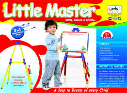 Buy Avis Little Master Board 3 in 1 Multicolor @ ₹ 895 by Avis from  Flipkart | bechdo.in