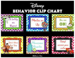 Behavior Clip Chart Disney Behavior Clip Chart Posters